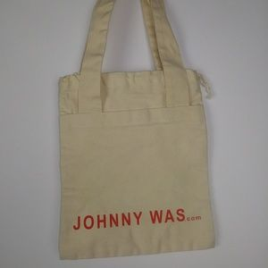Johnny Was Mini Canvas Bag